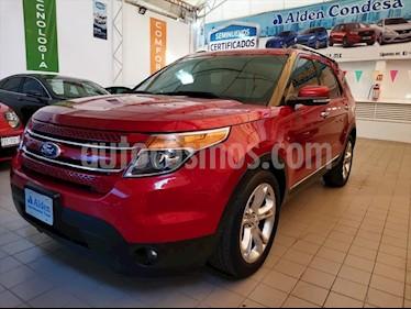 Ford Explorer 5P LIMITED V6 3.5 AUT usado (2015) color Rojo precio $340,000