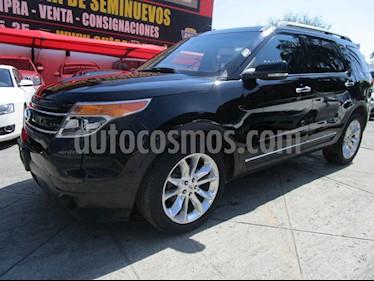 Ford Explorer Limited 4x2 3.6L  usado (2012) color Negro precio $229,000