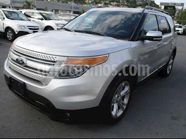 Ford Explorer Limited usado (2015) color Plata precio $345,000