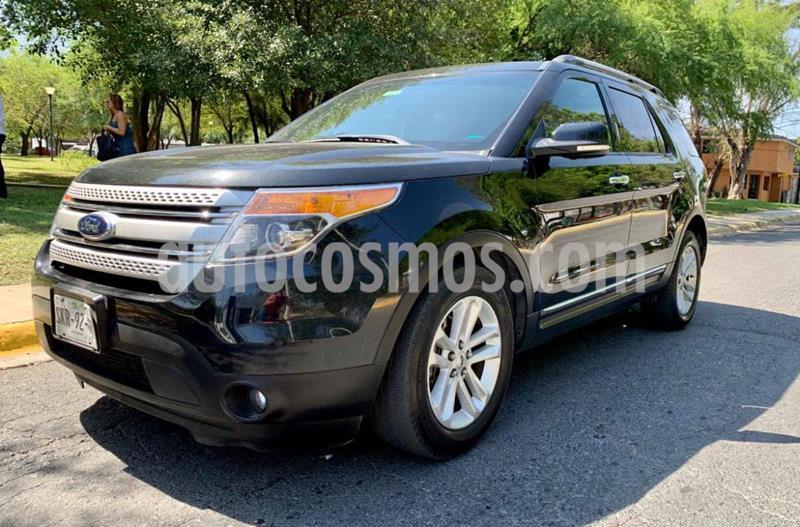 Ford Explorer XLT Base Piel usado (2014) color Negro precio $269,900