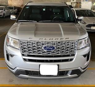 Ford Explorer Platinum 4x4 usado (2018) color Plata precio $749,000