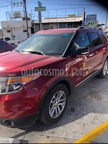 Ford Explorer XLT Piel usado (2014) color Rojo Cobrizo precio $299,000