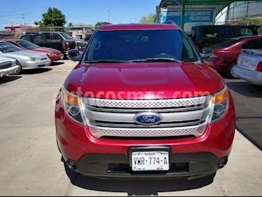 Ford Explorer XLT usado (2013) color Rojo precio $225,000