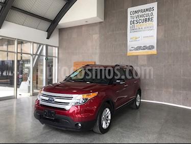 Ford Explorer XLT usado (2015) color Rojo precio $295,000