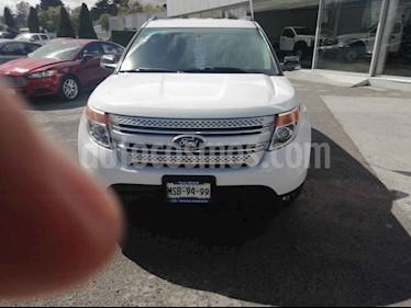 Ford Explorer XLT Tela usado (2014) color Blanco precio $269,000