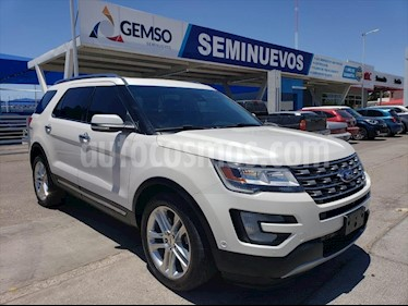 Ford Explorer LIMITED V6 4WD usado (2016) color Blanco precio $385,000