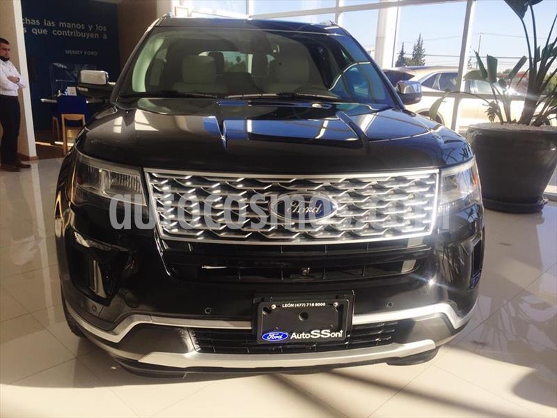 Ford Explorer PLATINUM 4WD 3.5L GTDI usado (2018) color Negro precio $799,999