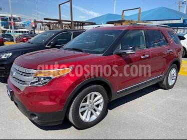 Ford Explorer XLT Tela usado (2014) color Rojo precio $255,000