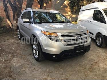 Ford Explorer LIMITED V6 usado (2015) color Plata precio $345,000