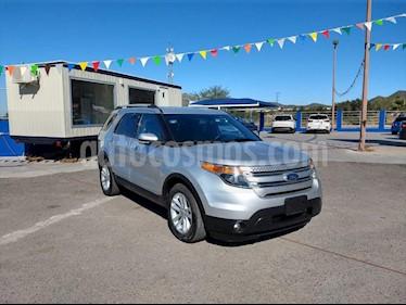 Ford Explorer XLT Tela usado (2013) color Plata precio $245,000