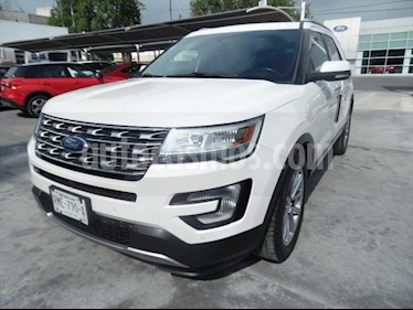 Ford Explorer LIMITED V6 usado (2017) color Blanco precio $489,900