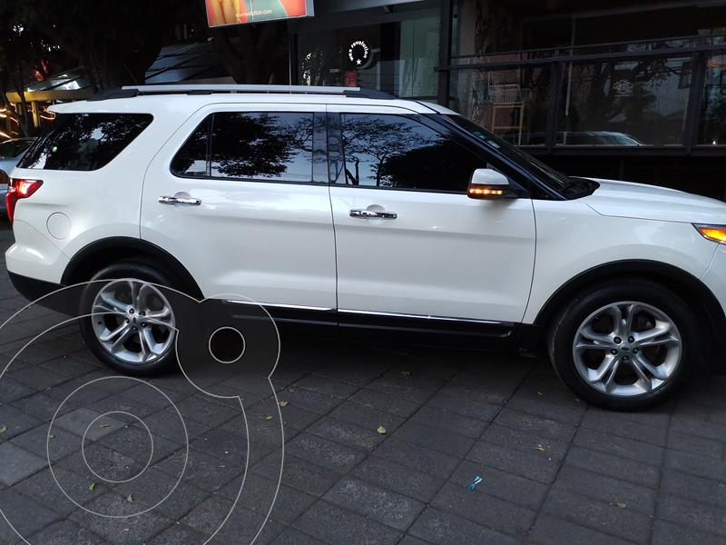 Ford Explorer Limited  usado (2013) color Blanco precio $238,000