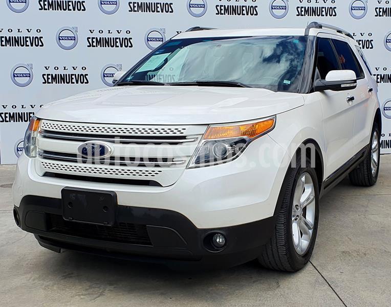 Ford Explorer XLT Piel usado (2015) color Blanco precio $335,000