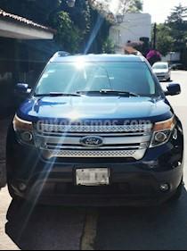 Ford Explorer XLT usado (2012) color Azul precio $210,000
