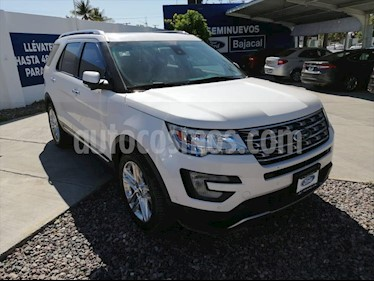 Ford Explorer LIMITED V6 4WD usado (2017) color Blanco precio $540,000