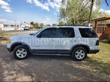 Ford Explorer Limited 4x4  usado (2002) color Blanco precio $64,700