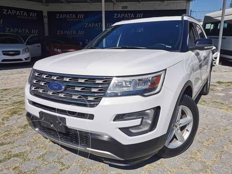 Ford Explorer XLT usado (2017) color Blanco precio $380,000