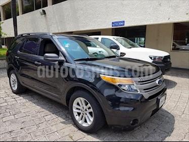 Ford Explorer 5P XLT V6 4X2 TELA BASE 4X2 usado (2011) color Negro precio $229,000