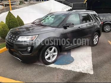Ford Explorer XLT usado (2016) color Gris Nocturno precio $320,000