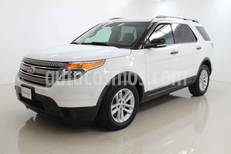 Ford Explorer XLT Base usado (2014) color Blanco precio $238,000