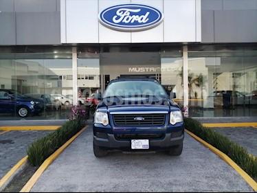 Ford Explorer 5P XLT V6 4X2 usado (2006) color Azul Electrico precio $99,000