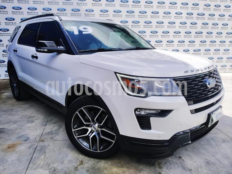 Ford Explorer Sport 4x4 usado (2019) color Blanco precio $670,000