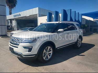 Ford Explorer Limited  usado (2019) color Blanco precio $640,000