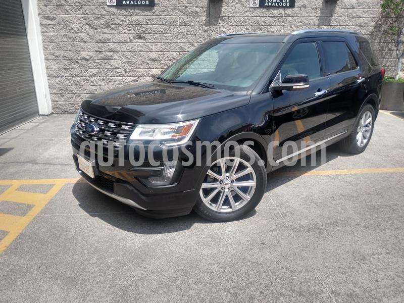 Ford Explorer Limited usado (2016) color Negro precio $389,000