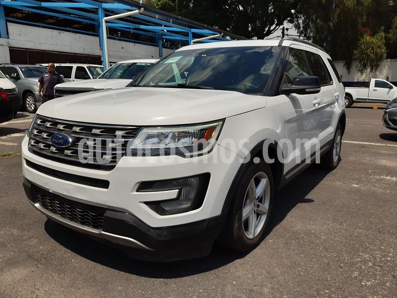 Ford Explorer XLT Tela usado (2017) color Blanco Oxford precio $390,000