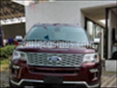 Foto Ford Explorer PLATINUM 4WD 3.5L GTDI usado (2018) color Rojo precio $635,000