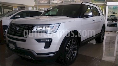 Foto venta Auto usado Ford Explorer Platinum 4x4 (2018) color Blanco precio $830,000