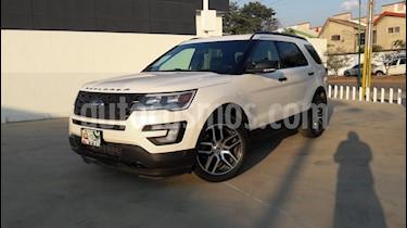 Foto venta Auto usado Ford Explorer Sport 4x4 (2017) color Blanco precio $570,000