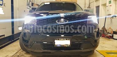 Ford Explorer Sport 4x4 usado (2018) color Negro Profundo precio $600,000