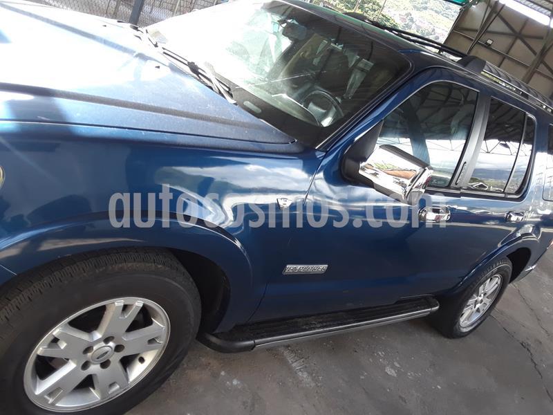 Ford Explorer Limited 4.6L Aut usado (2010) color Azul precio u$s5.500