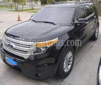 foto Ford Explorer XLT  4x2 usado (2013) color Negro precio BoF11.900