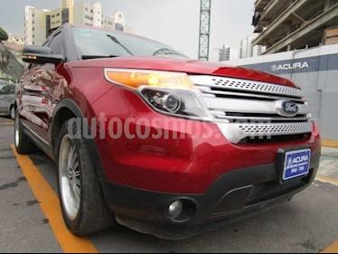 Foto venta Auto Seminuevo Ford Explorer XLT 4x2 4.0L  (2013) color Cereza Oscuro precio $300,000