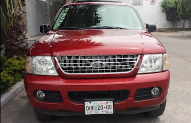 Ford Explorer XLT 4x2 4.0L  usado (2004) color Rojo precio $83,000