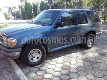 Foto venta Auto usado Ford Explorer Xlt 4x2 V6,4.0i,12v A 1 2 (1998) color Azul precio u$s7.100