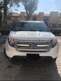 Foto Ford Explorer XLT Base Piel usado (2015) color Blanco Platinado precio $350,000