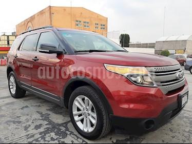 Ford Explorer XLT Base  usado (2013) color Rojo Granate precio $210,000