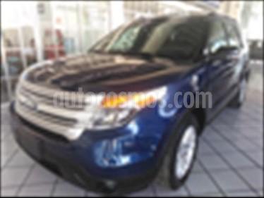 Foto venta Auto usado Ford Explorer XLT Base  (2012) color Azul Electrico precio $249,000