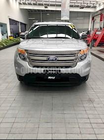 Foto venta Auto usado Ford Explorer XLT Base (2013) color Plata precio $249,000