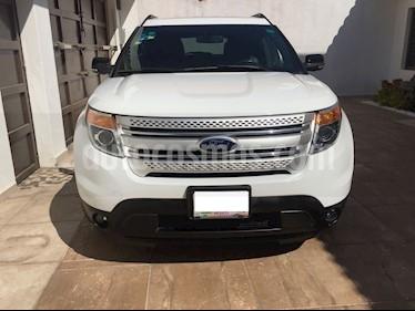 Foto venta Auto usado Ford Explorer XLT Piel (2013) color Blanco Platinado precio $309,000