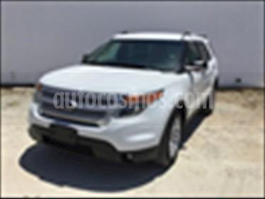 Foto venta Auto usado Ford Explorer XLT Piel (2014) color Blanco precio $320,000