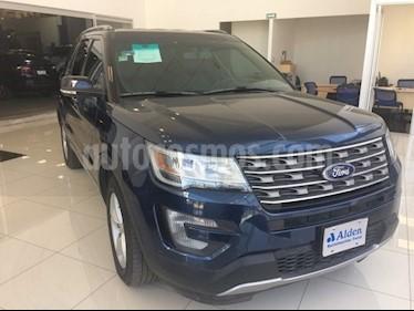 Foto venta Auto usado Ford Explorer XLT Piel (2017) color Azul precio $515,000