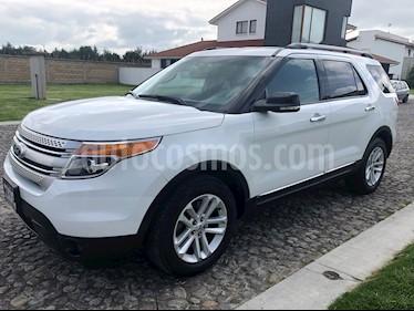 Ford Explorer XLT Piel usado (2015) color Blanco Oxford precio $329,000