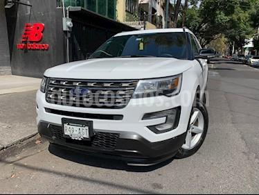 Foto Ford Explorer XLT Piel usado (2016) color Blanco Oxford precio $420,000