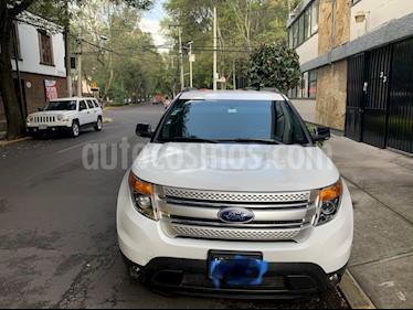 Ford Explorer XLT Piel usado (2014) color Blanco precio $300,000
