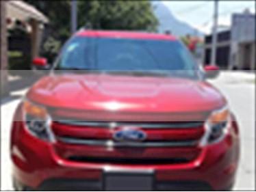 Foto venta Auto usado Ford Explorer XLT Piel (2015) color Rojo precio $325,000