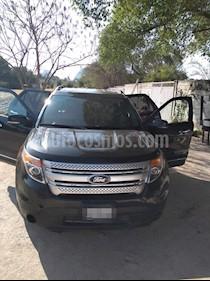 Ford Explorer XLT Piel usado (2013) color Negro precio $250,000